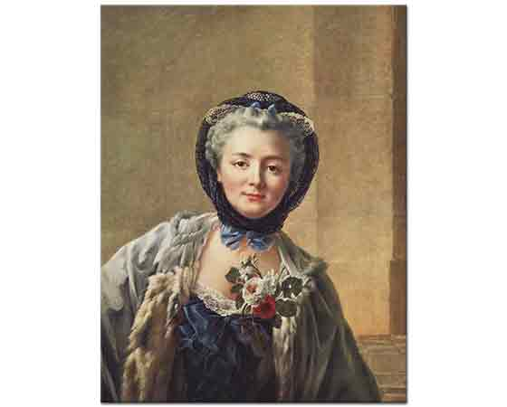 François Hubert Drouais Madame Drouais