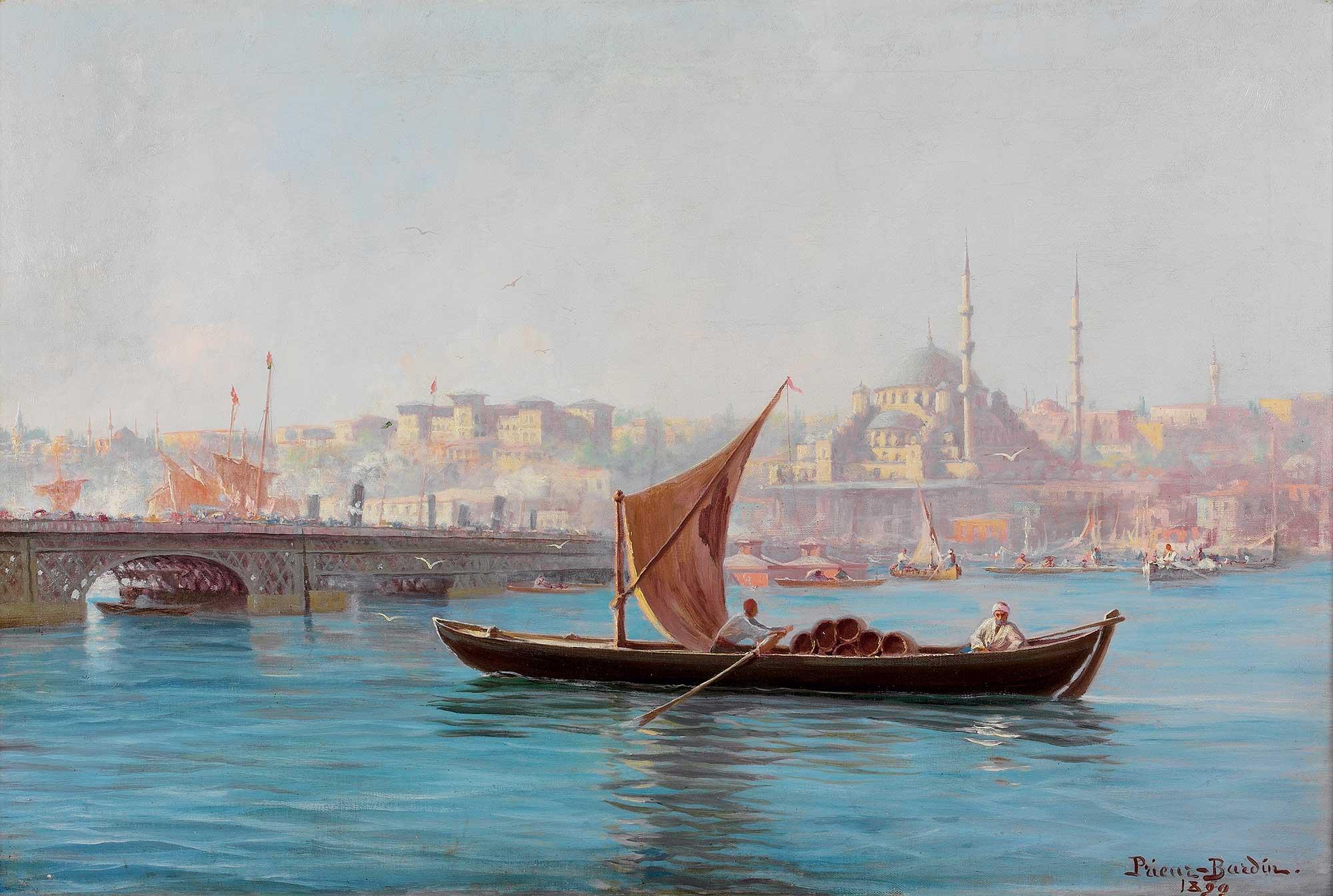 François Prieur Bardin Yeni Camiye doğru