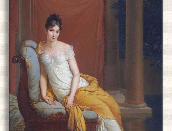 François Gerard Madam Recamier