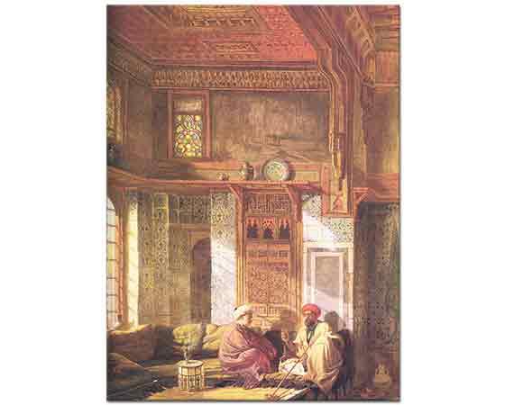 Frank Dillon Müftü Şeyh el Mahadi'nin Evi Kahire
