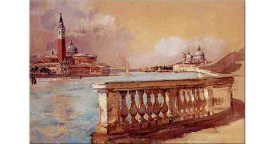 Frank Duveneck, Venedik'te Grand Kanalı