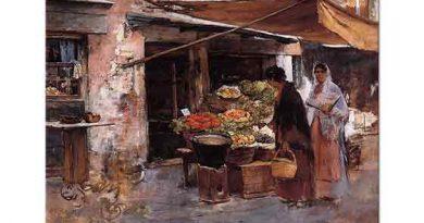 Frank Duveneck, Venedik'te Meyve Dükkanı