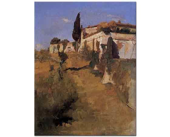 Frank Duveneck, Villa Castellani Belloguardo