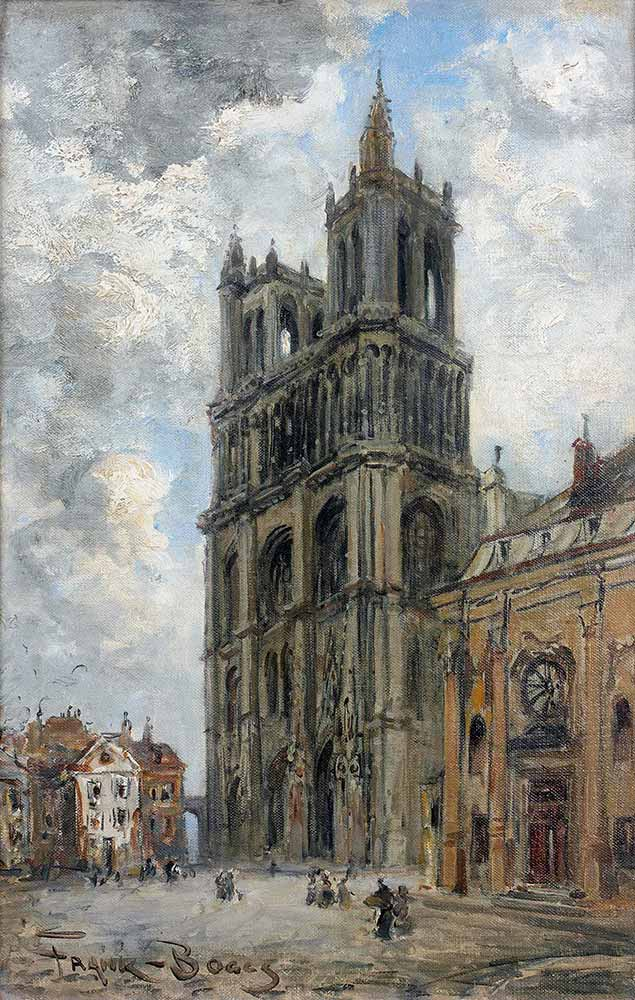 Frank Myers Boggs Mantes Katedrali