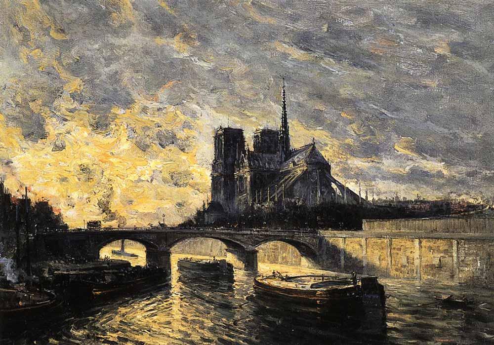 Frank Myers Boggs Notre Dame'e Bakış