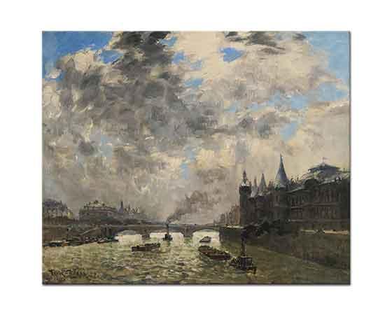 Frank Myers Boggs Sen Nehri Paris
