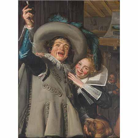 Frans Hals Aristokrat ve Sevgilisi