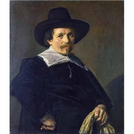 Frans Hals Eldivenli Adam
