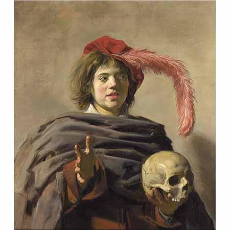 Frans Hals Kurukafa ve Çocuk