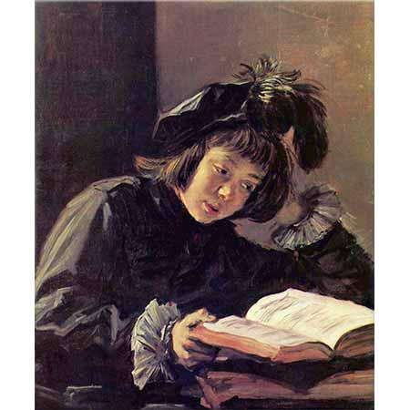 Frans Hals Okuyan Çocuk