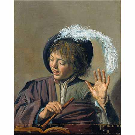 Frans Hals Şarkı Söyleyen Flütçü
