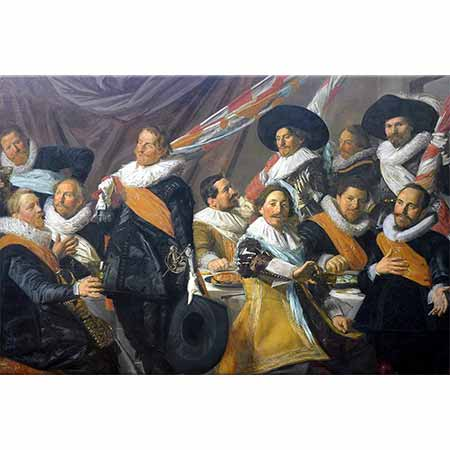 Frans Hals St George Sivil Savunma Memurlarının Ziyafeti