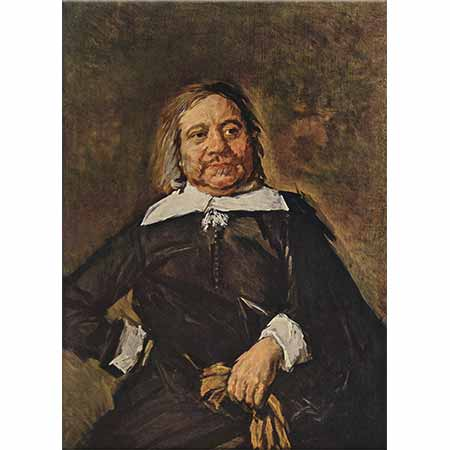 Frans Hals Willem Croes'in Portresi