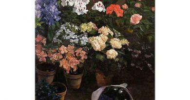Frederic Bazille Çiçek Etüdü