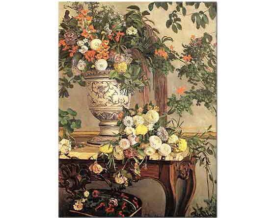 Frederic Bazille Çiçekler