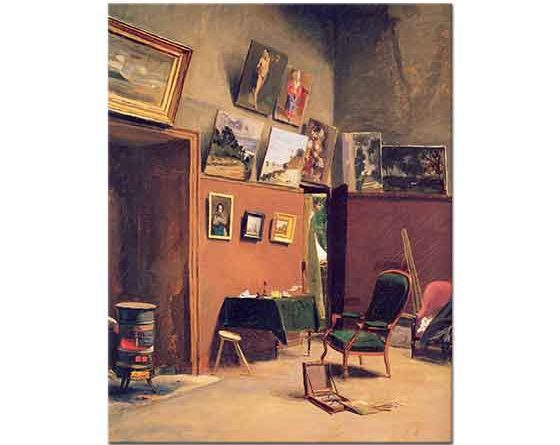 Frederic Bazille Furstenbergdeki Stüdyo
