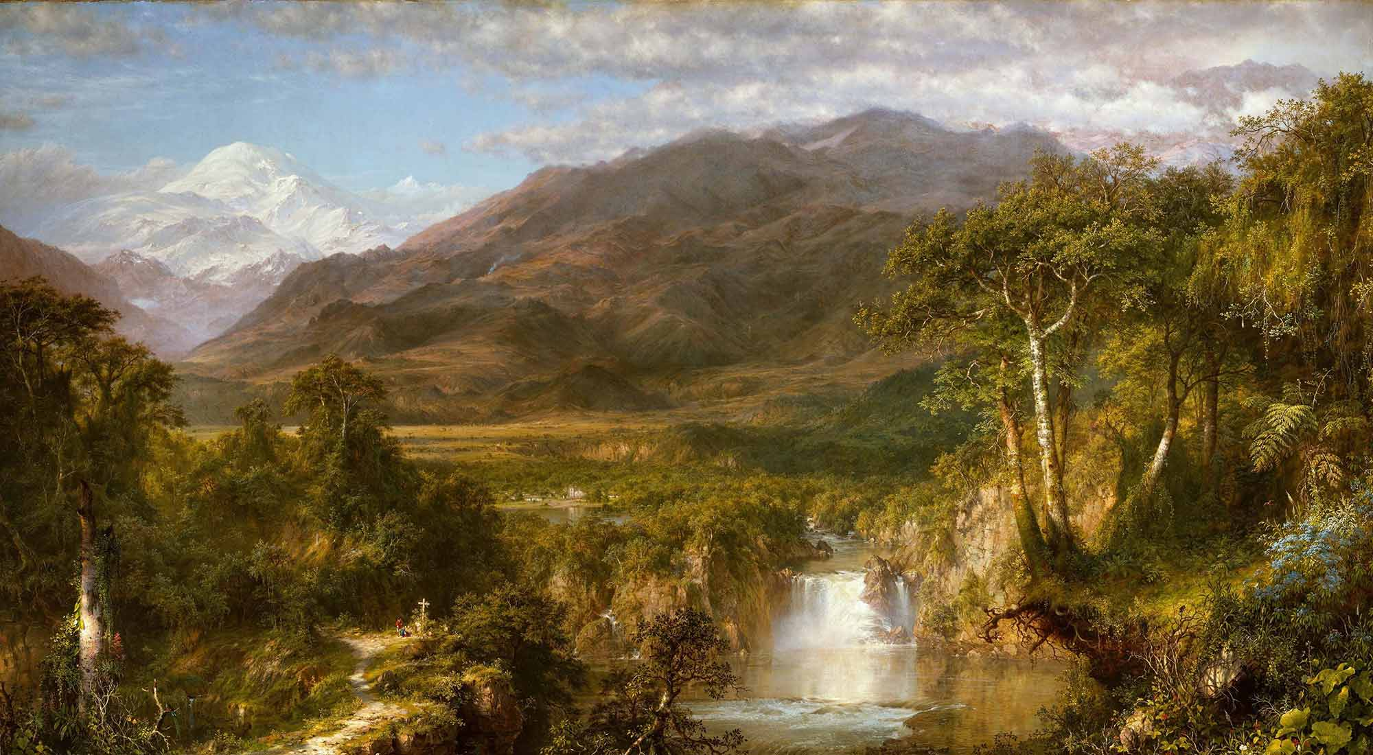 Frederic Edwin Church And'ların Kalbi