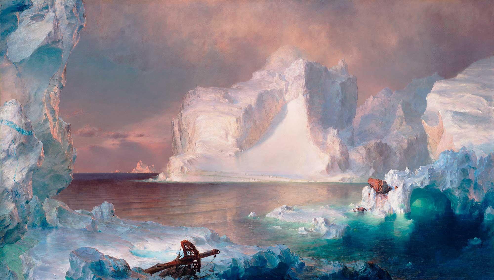 Frederic Edwin Church Buz Adası