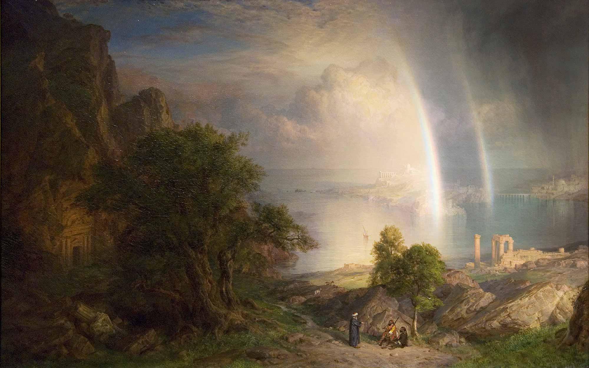 Frederic Edwin Church Ege Denizi