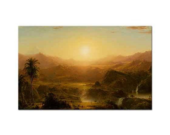 Frederic Edwin Church Ekvator'da And Dağları