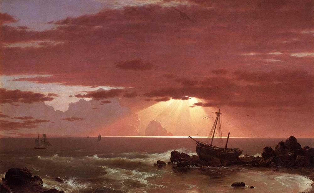 Frederic Edwin Church Gemi Enkazı