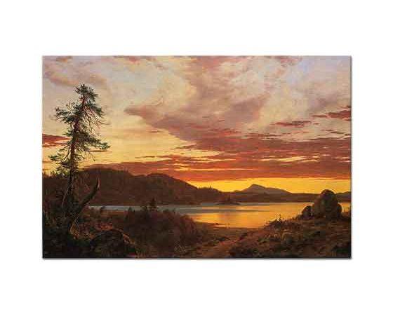 Frederic Edwin Church Günbatımı