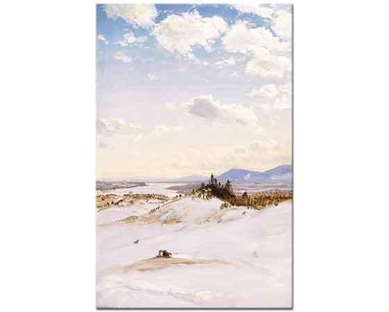 Frederic Edwin Church Kış Manzarası, Olana