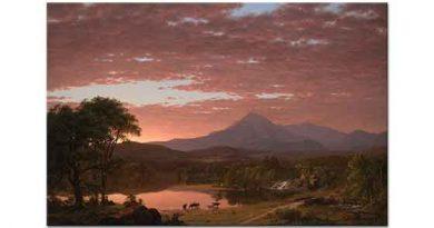 Frederic Edwin Church Ktaadn Dağı tablosu