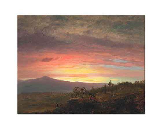 Frederic Edwin Church Ktaadn Dağı
