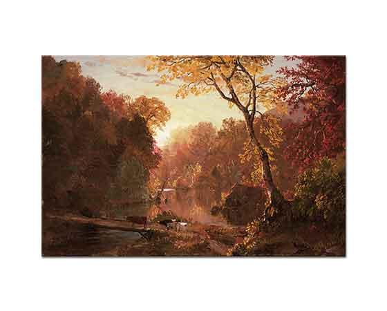 Frederic Edwin Church Kuzey Amerika'da Sonbahar