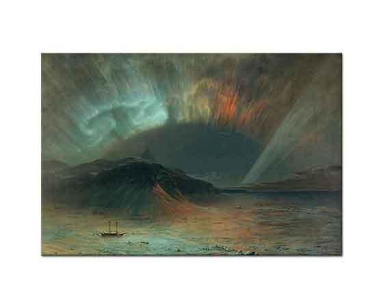 Frederic Edwin Church Kuzey ışıkları