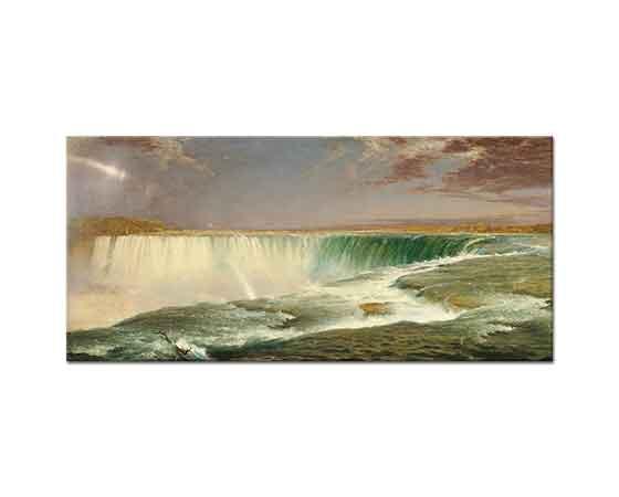 Frederic Edwin Church Niagara Şelalesi