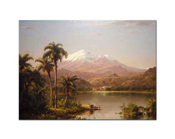 Frederic Edwin Church Tamaca Palmiyeleri