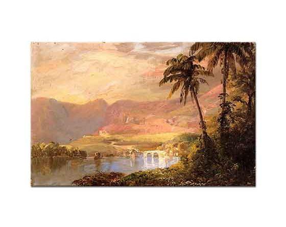Frederic Edwin Church Tropikal Manzara