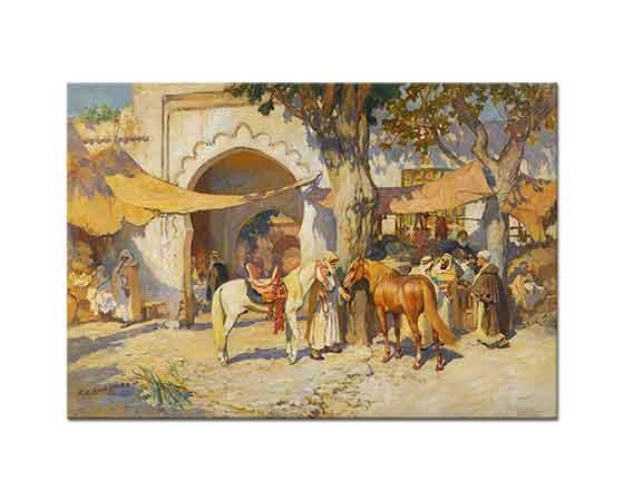 Frederick Arthur Bridgman Çarşı