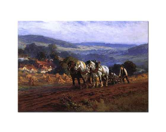 Frederick Arthur Bridgman Çiftçi
