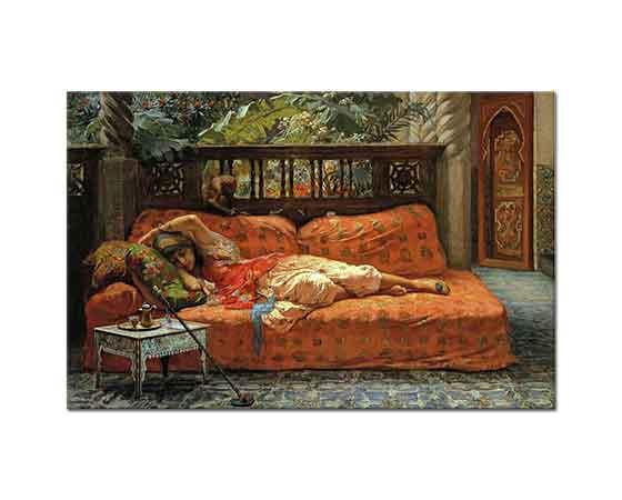 Frederick Arthur Bridgman Dinlenme