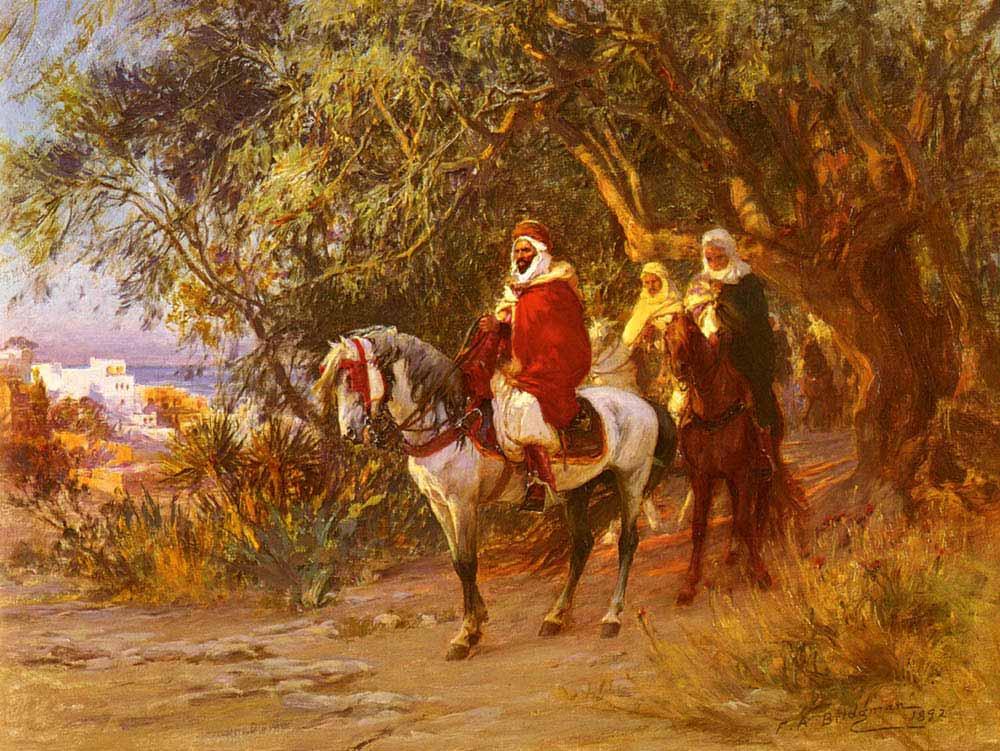 Frederick Arthur Bridgman Dönüş