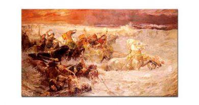 Frederick Arthur Bridgman Firavunun Kızıldeniz'de Boğulması