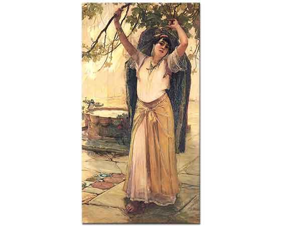 Frederick Arthur Bridgman Ispanyol Kadın