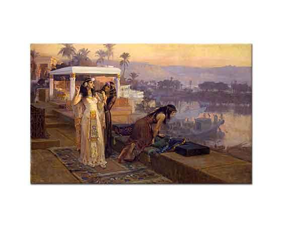 Frederick Arthur Bridgman Kleopatra Terasta