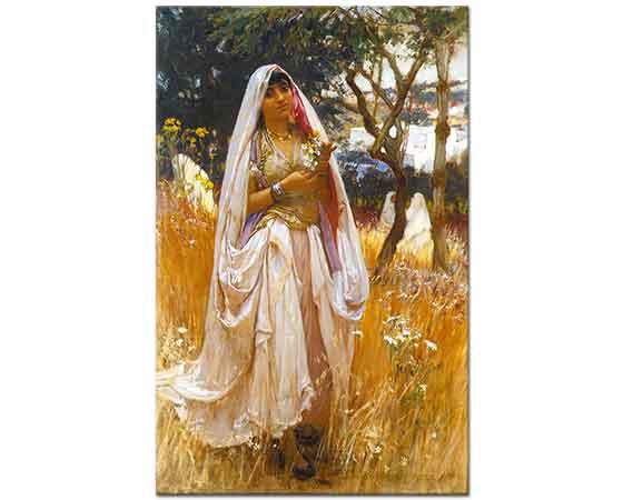 Frederick Arthur Bridgman Magribi Kız Cezayir Sahili