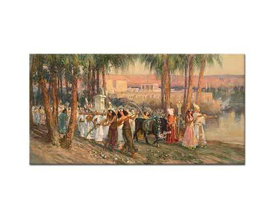 Frederick Arthur Bridgman Mısır'da Tören