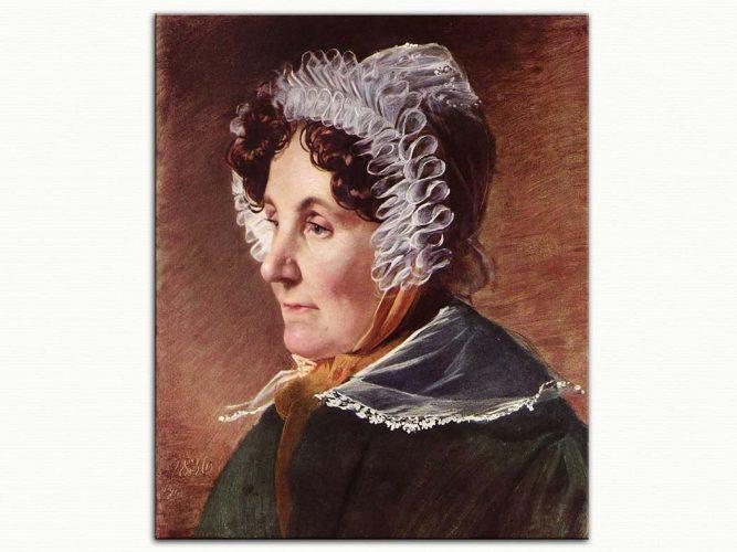 Friedrich von Amerling Ressamın Annesi
