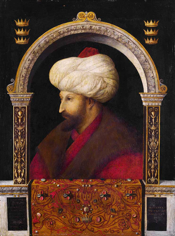Gentile Bellini Fatih Sultan Mehmet