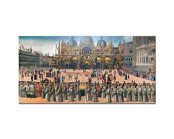 Gentile Bellini San Marco Meydanında Tören
