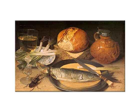 Georg Flegel Balıklı Natürmort