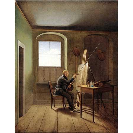 Georg Friedrich Kersting Caspar David Friedrich Stüdyoda