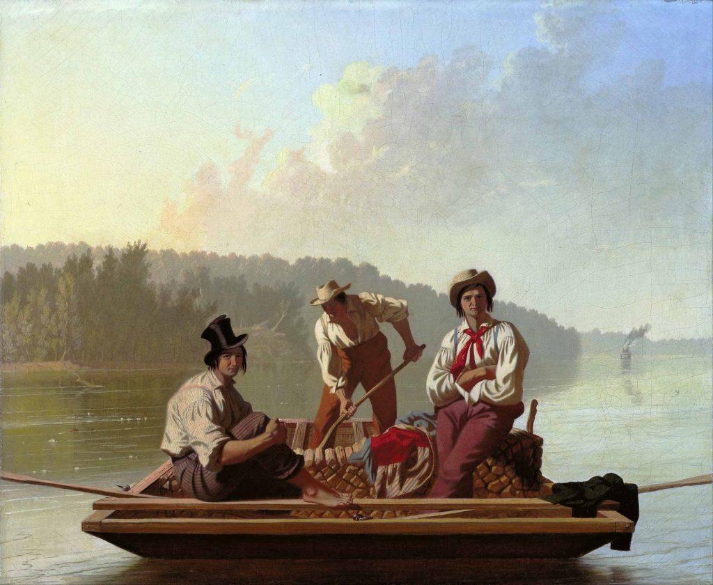 George Caleb Bingham Missuri'de Sandalcılar