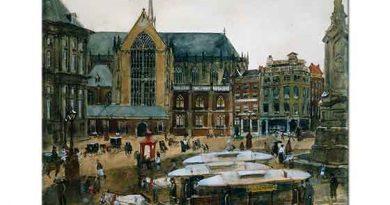 Georg Hendrik Breitner Amsterdam Katedrali